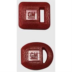 Classic Auto Locks CL-237 GM Marking Plastic Key Cover Set, Red