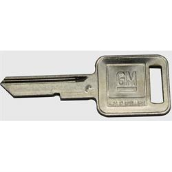 Classic Auto Locks CL-226 Chevrolet Square Head Key, Each