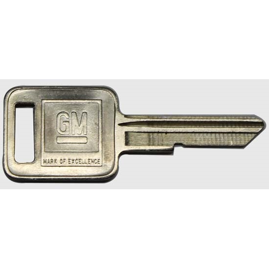 Classic Auto Locks CL-228 Chevrolet Square Head Key, Each