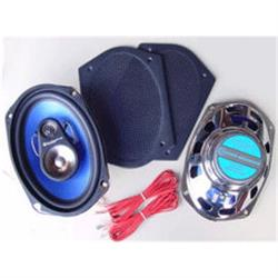 Custom Autosound CAM-693C Radio Rear Speakers, 6x9/3-Way/200 Watt,Pair