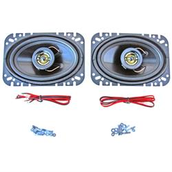 Custom Autosound CAM-462 Kick Panel Speakers, 4x6, Pair