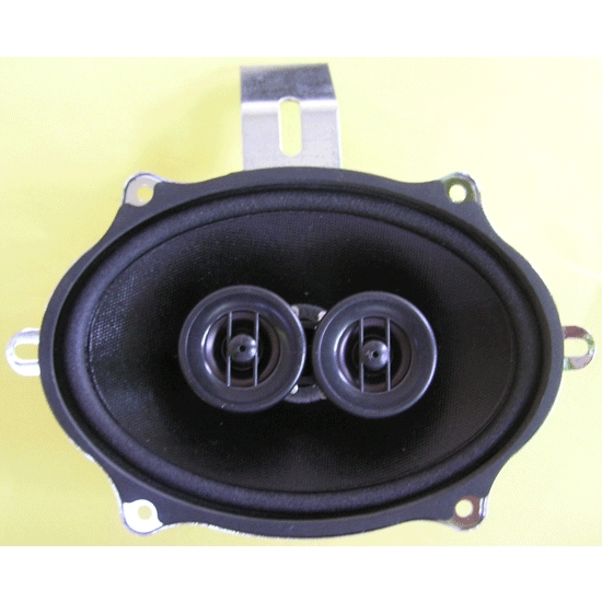 Custom Autosound 4008 Dual Voice Speaker, 140W, 66-67 Nova/Chevelle