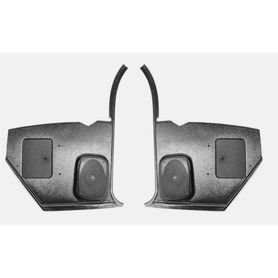 custom autosound kcam 67 8 speaker kick panels 1967 68 camaro pair. Black Bedroom Furniture Sets. Home Design Ideas