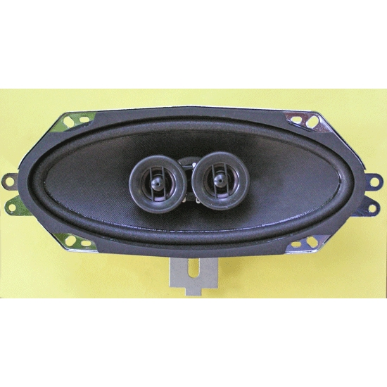 Custom Autosound 4001 Dual Voice Control Speaker, 1967-72 Chevy, Each