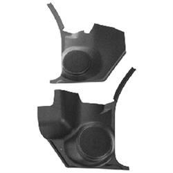 Custom Autosound KCHV-68/2A Speaker Kick Panels, 68-72 Chevelle, Pair