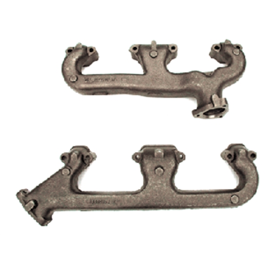 D&R Classic Z00350-A Small Block Exhaust Manifolds, Non-Smog, Pair
