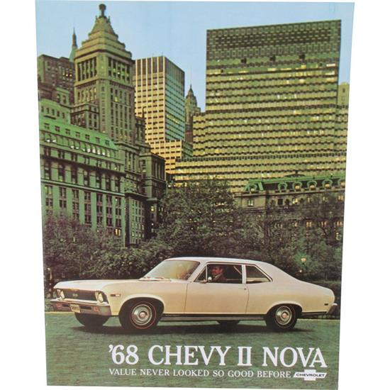 Dave Graham 68-NSB 1968 Nova Salesroom Brochure