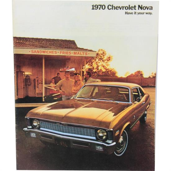 Dave Graham 70-NSB 1970 Nova Salesroom Brochure