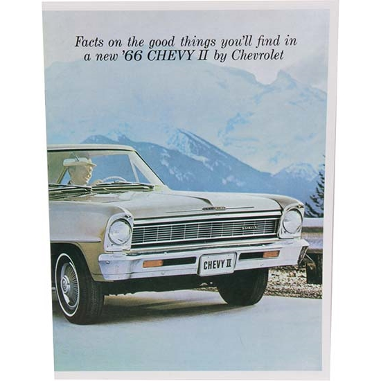 Dave Graham 66-NSB 1966 Nova Salesroom Brochure