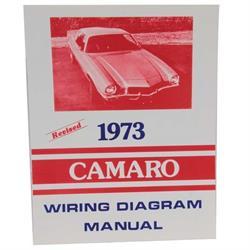 Dave Graham 73-WDCA 1973 Camaro Wiring Diagrams