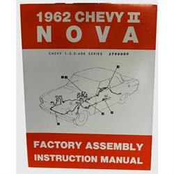 Dave Graham 62-NFA Factory Assembly Manual 62 Chevy II/Nova
