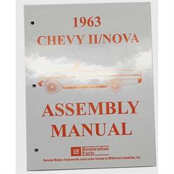 Dave Graham 63-NFA Factory Assembly Manual for 1963 Chevy II/Nova
