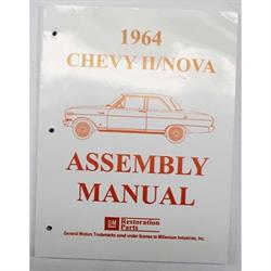 Dave Graham 64-NFA 1964 Chevy II/Nova Assembly Manual