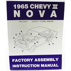 Dave Graham 65-NFA Assembly Instruction Manual, 1965 Chevy II Nova