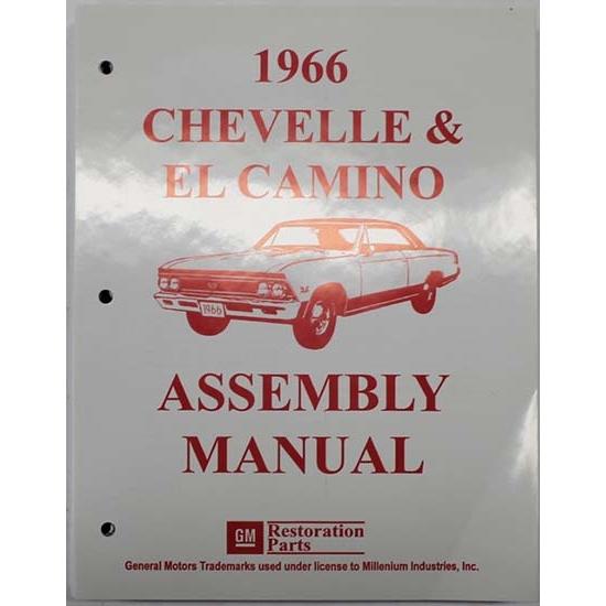 Dave Graham 66-CHFA Factory Assembly Manual,66 Chevelle/El Camino