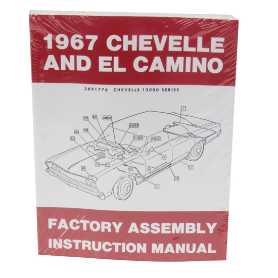Dave Graham 67-NFA Duplicate Assembly Manual, 1967 Nova