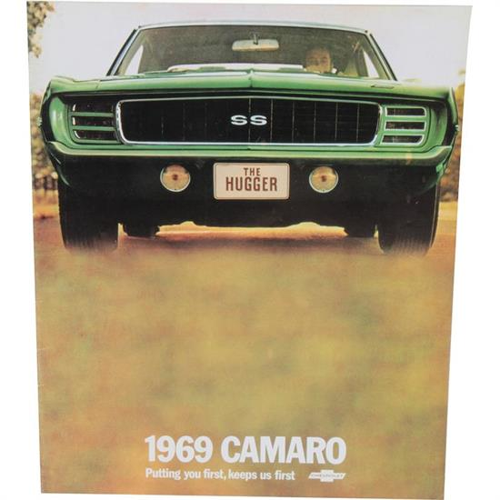 Dave Graham 69-CASB Color Sales Brochure for 1969 Camaro