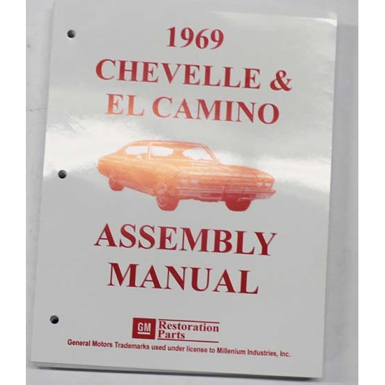 Dave Graham 69-CHFA Factory Assembly Manual, 69 Chevelle/El Camino