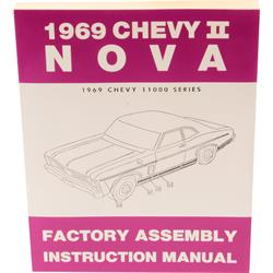 Dave Graham 69-NFA Factory Assembly Manual, 1969 Chevy II/Nova