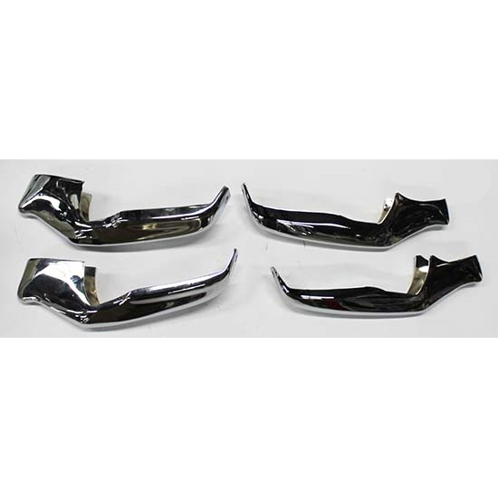 Dynacorn 1460X 4-Piece Front and Rear Bumper Guards for 1966 Chevelle