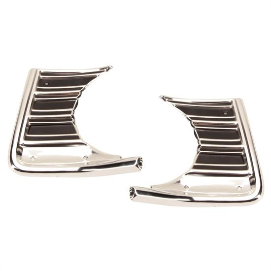 Dynacorn M1362A 1967 Chevelle Outer Grille Extensions, Pair