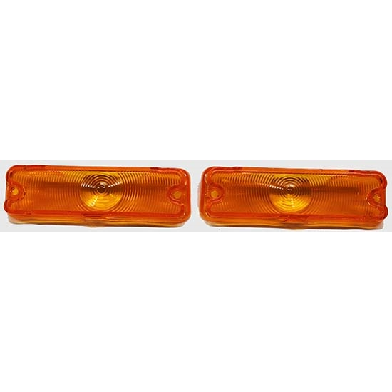 Dynacorn L66N Parking Light Lenses for 66 Chevelle, Pair