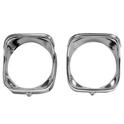 Dynacorn M1388 Head Lamp Bezels, RH, 1968 Chevelle