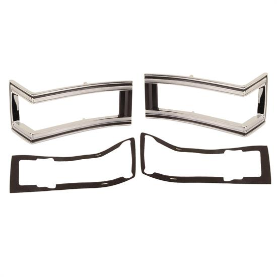 Dynacorn M1380 Tail Light Bezels, RH/LH, 1968 Malibu SS