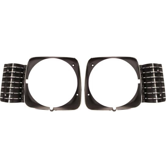 Dynacorn MI671 Headlight Bezels, 1969-72 Chevy Nova, Pair