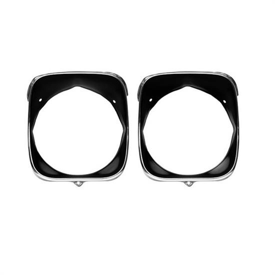 Dynacorn M1397 Headlamp Bezels, Inner/Outer, 1969 Chevelle, LH