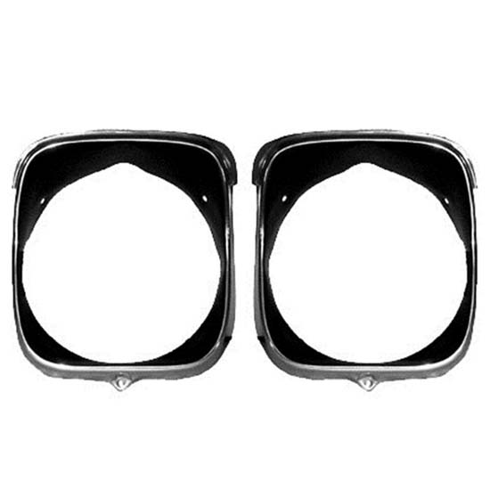 Dynacorn M1396 Headlamp Bezels, Inner/Outer, 1969 Chevelle, RH