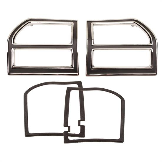 Dynacorn M1310 Tail Light Bezels, RH/LH, 1969 Malibu SS