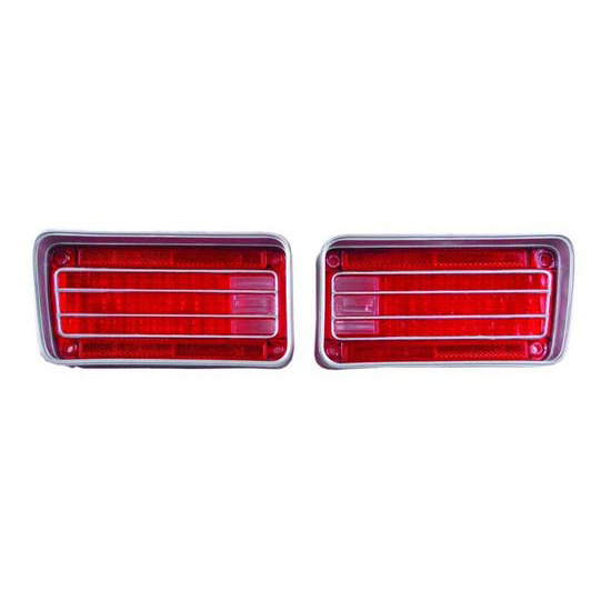 Dynacorn TL70AN 1970 Chevelle Tail Light Lenses, Pair