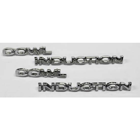 Dynacorn M1344 Cowl Induction Hood Emblems, Camaro/Nova/Chevelle, Pair
