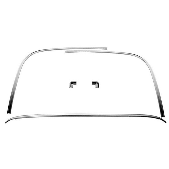 Dynacorn M1029G 1970-1974 Camaro Rear Window Molding Kit, 5 Piece