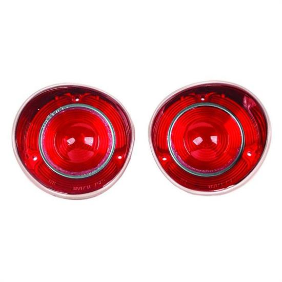 Dynacorn TL71AN 71 Chevelle Tail Light Lenses, Pair