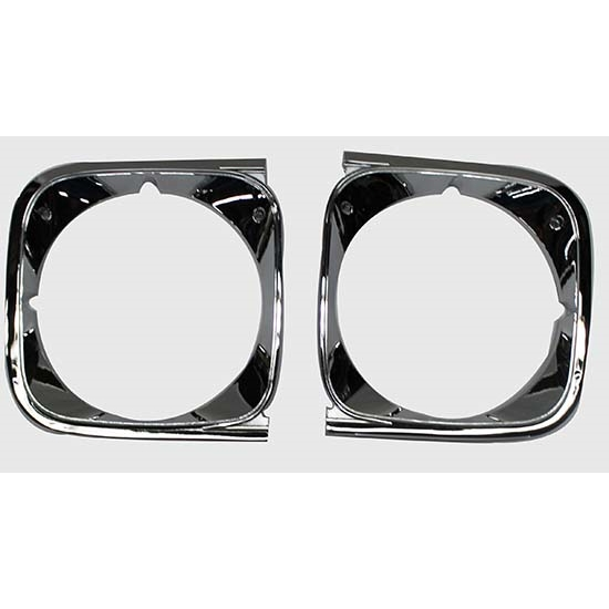 Dynacorn  Headlight Bezels for 1972 Chevelle, Pair