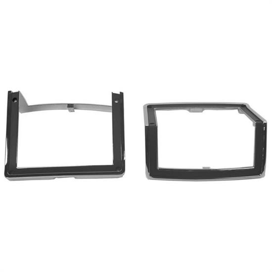 Dynacorn L72BZ Parking Light Bezels, 1972 El Camino, Pair