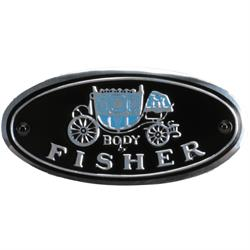 "Dynacorn FL01 Sill Plate Decal - ""Body by Fisher"""