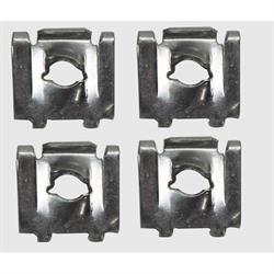Original GM Backup Light Housing J-Nuts for 69 Camaro RS, 4-Piece Kit