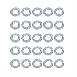 "7/16"" Zinc Finish Medium Split Lock Washers"