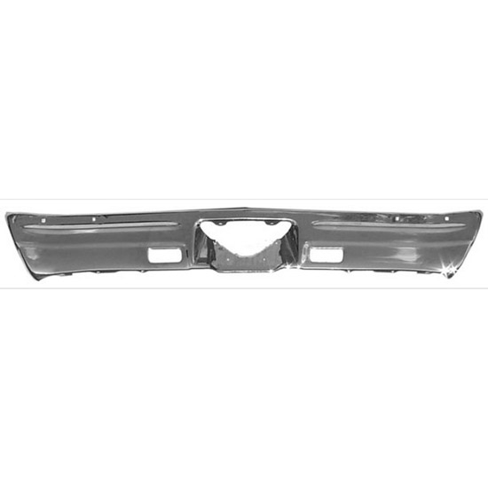 Golden Star BU03-68R 1968 Malibu/SS-396 Rear Chrome Bumper