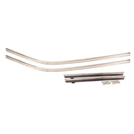 Golden Star RR01-68P Roofrail Weatherstrip Channel, 1968-69 Camaro