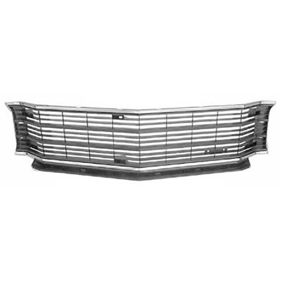 Goodmark 4033-050-721 Front Grille Assembly, 1972 Chevelle