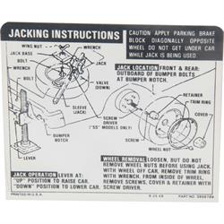 1969 engine decals free shipping speedway motors jim osborn dc0413 jacking instructions decal for 1969 71 nova ss asfbconference2016 Choice Image
