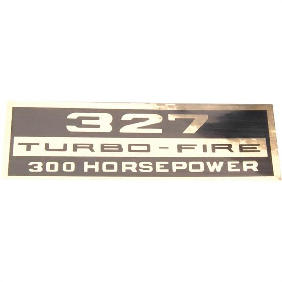 Jim Osborn DC034 Turbo Fire 327 300HP Black and Gold Decal