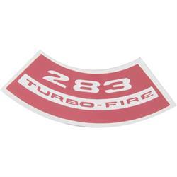 Jim Osborn DC0572 Turbo Fire 283 Air Cleaner Decal