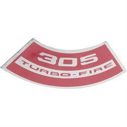 Jim Osborn DC0654 Turbo Fire 305 Air Cleaner Decal