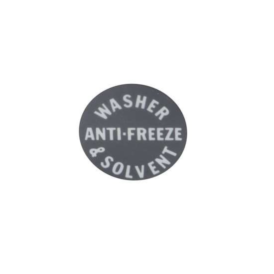 Jim Osborn DC101 1960-67 Anti-Freeze Washer & Solvent Decal