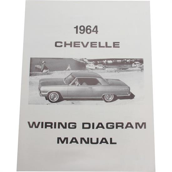 Jim Osborn MP0088 64 Chevelle Wiring Diagrams